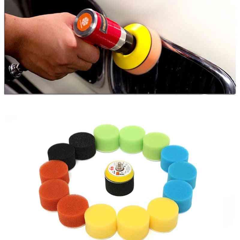 Polishing Pad For Car Polisher, Circle Buffing Pad, Tool Kit