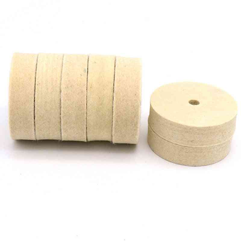 Wool Polishing, Buffing Grinding, Wheel Polisher, Disc Pad For Car Auto Accessories
