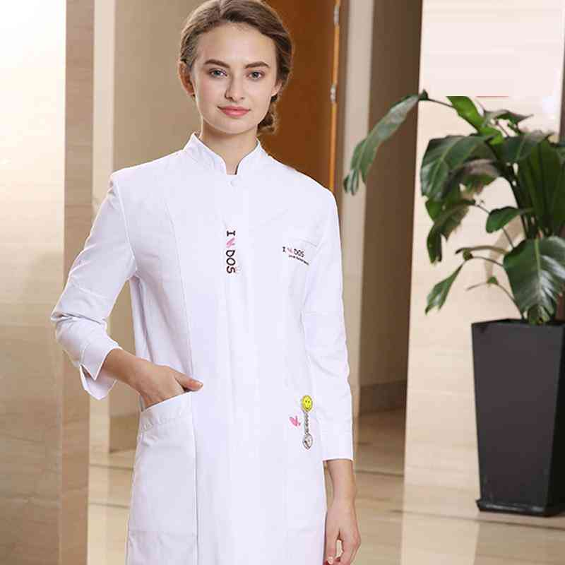Spring- Beauty Centre Workwear, White Uniforms Coat