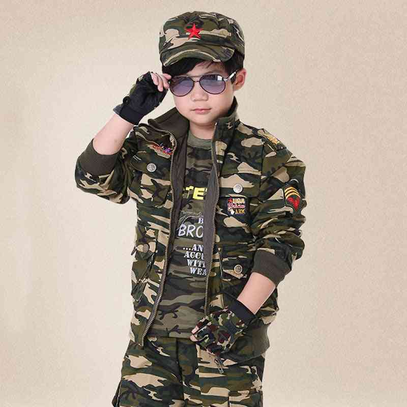 Spring- Military Training Uniform, Security Costume For