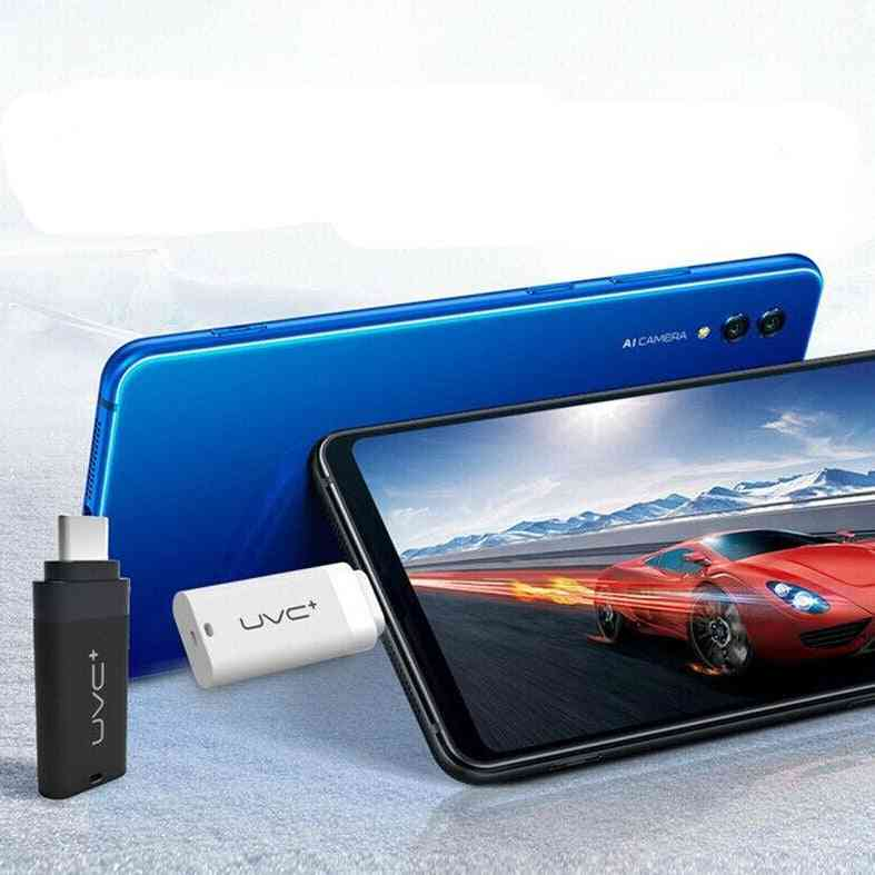 Portable Uvc Disinfection Uv Led Light Mobile Phone Usb Interface Plug