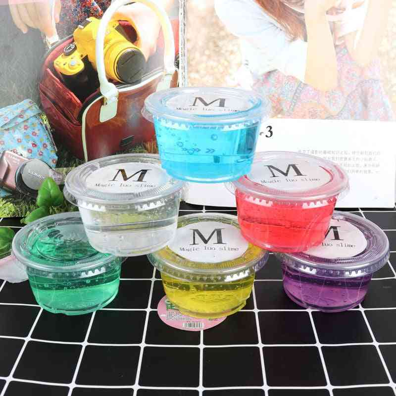 Crystal Slime Ball, Fluffy Diy Polymer Clay, Super Light, Soft Cotton, Charms Kit