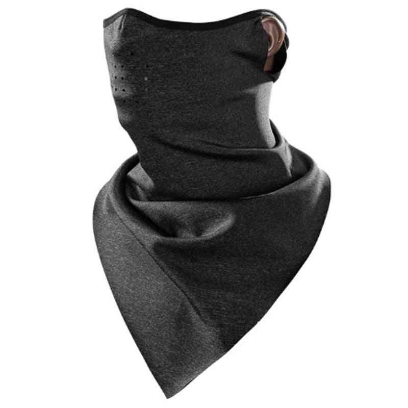 Winter Scarf Warm Fleece Mask, Breathable Cycling Scarfs
