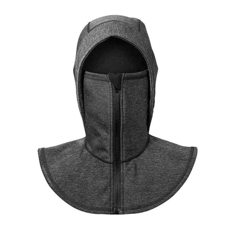 Thermal Fleece Ski Headgear, Windproof Skiing Bibs, Snowboard Neck Warmer Face Mask, Snow Sport Headwear Hat