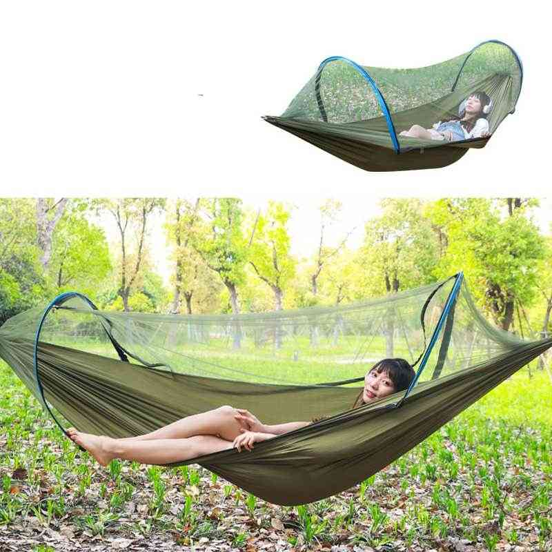 Portable Outdoor Anti-mosquito Net, Hammock Double Hanging Bed