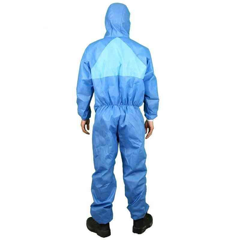 Disposable Coverall Protective Clothing Hooded Dust-proof Breathable Safety Suit