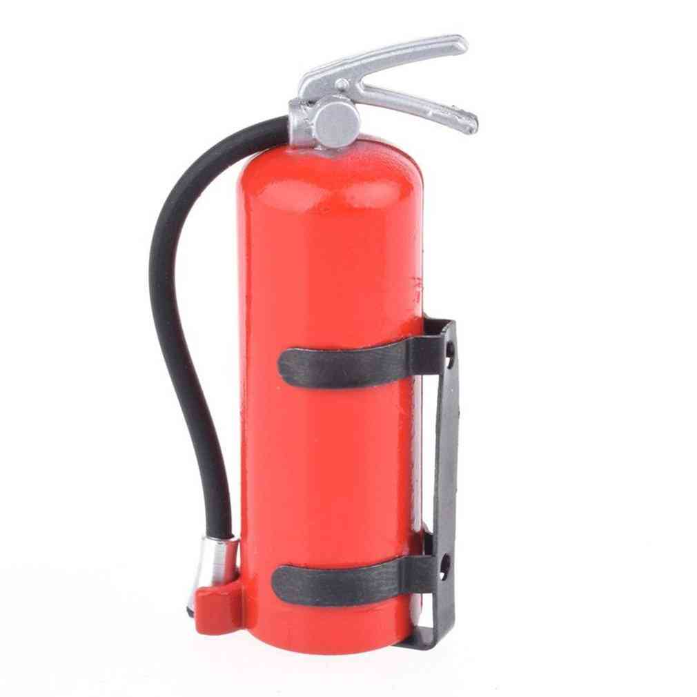 1/10 Scale Fire Extinguisher Toy- Rc Rock Crawler Car Accessory