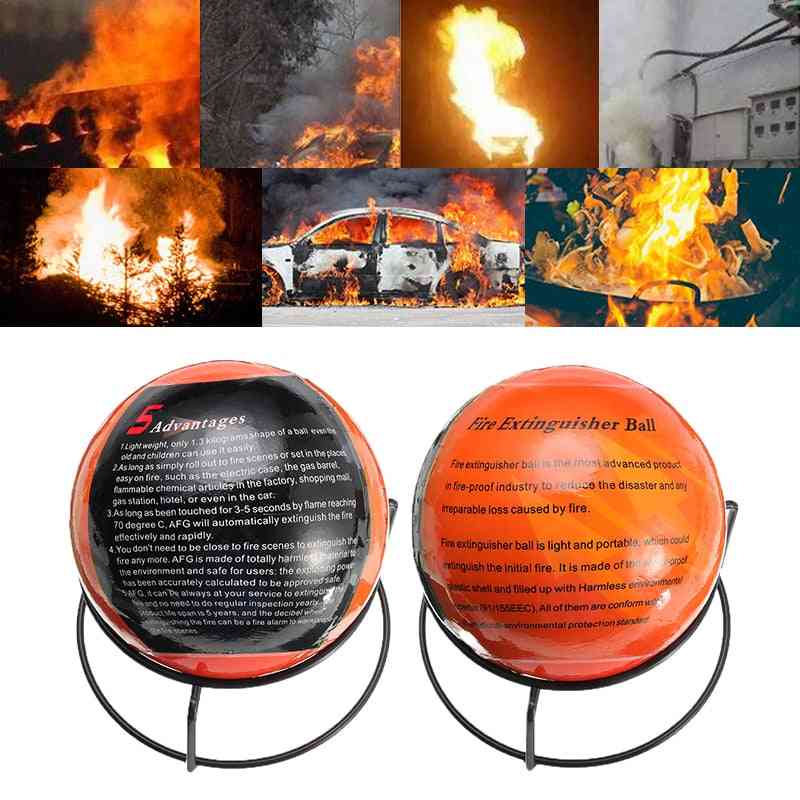 Easy Throw Stop-fire Automatic Fire Extinguisher Ball Loss Tool