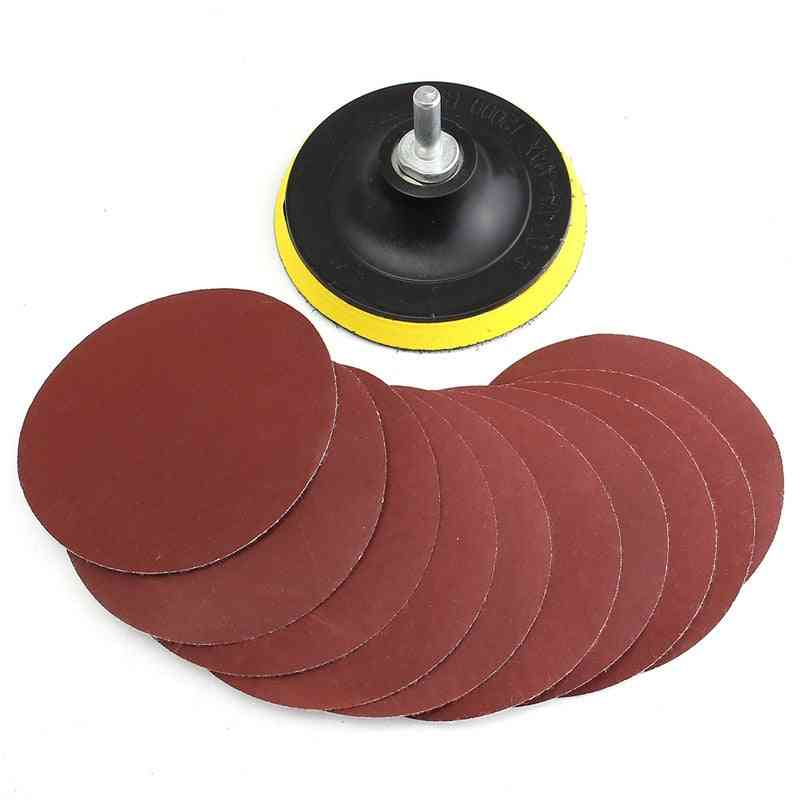 Sanding Disc Sandpaper 1000 Grit With Backer Pad Drill Adapter