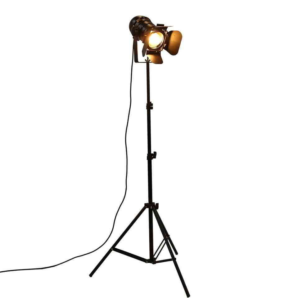 Industrial Bar Creative Studio Retro Tripod Floor/room Lamp Lights