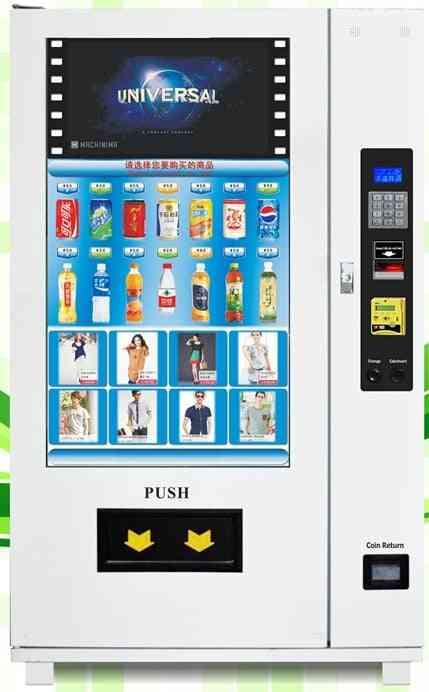 Outdoor Snack, Drink, Self Service Vending Machine