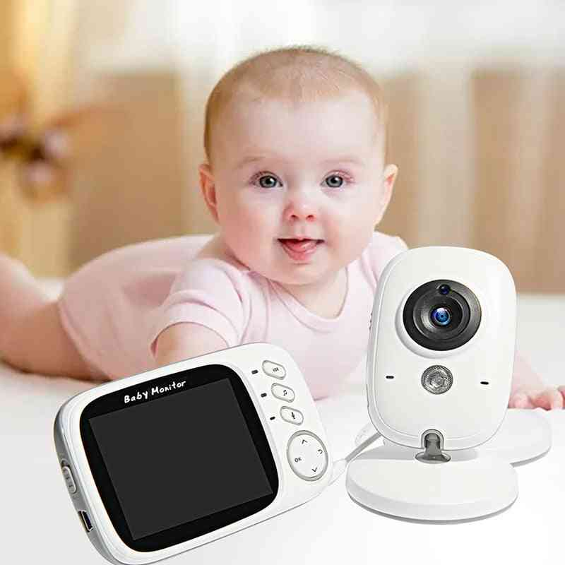 Wireless Video Color Baby Monitor With 3.2inches Lcd
