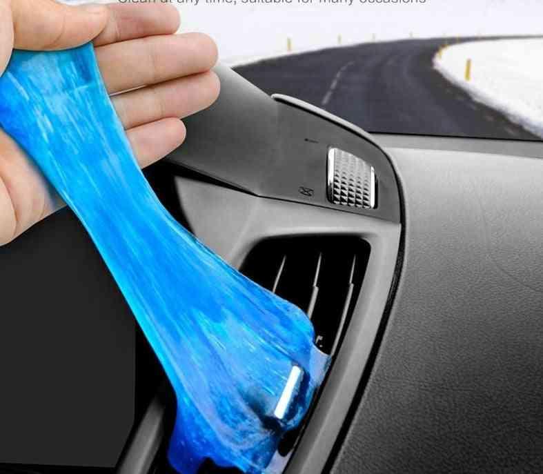 Soft Sticky, Clean Glue Gum, Silica Gel Keyboard Dust, Cleaner Car (1pcs 80g)