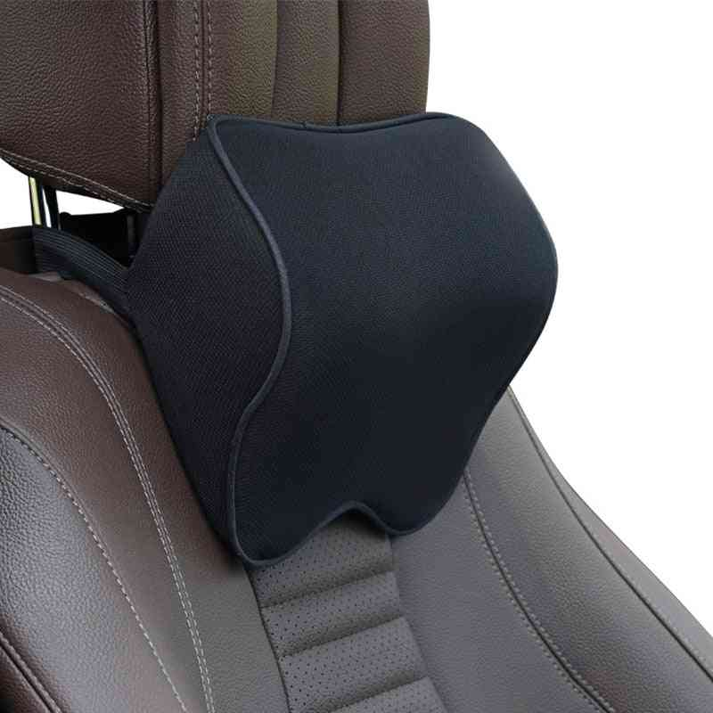 Car Seat, Head Support, Protector Memory Cotton, Cushion Neck, Headrest Pillow