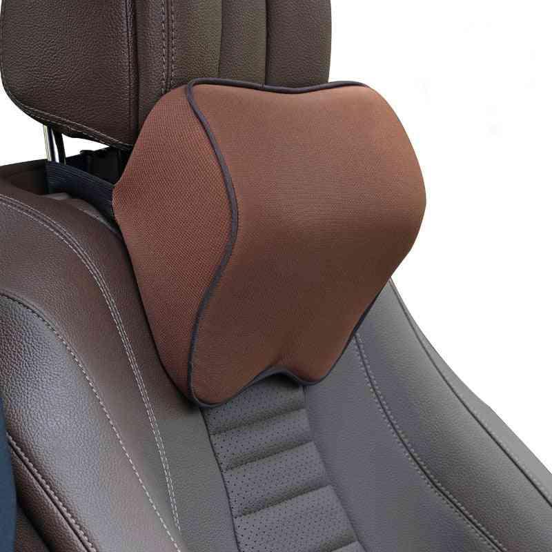 Car Memory Cotton, Neck Headrest, Cushion Pillow, Interior Accessories