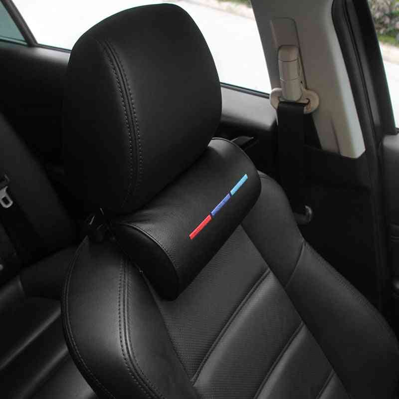Car Styling, Seat Neck Pillow, Protection Pu Auto, Headrest Support