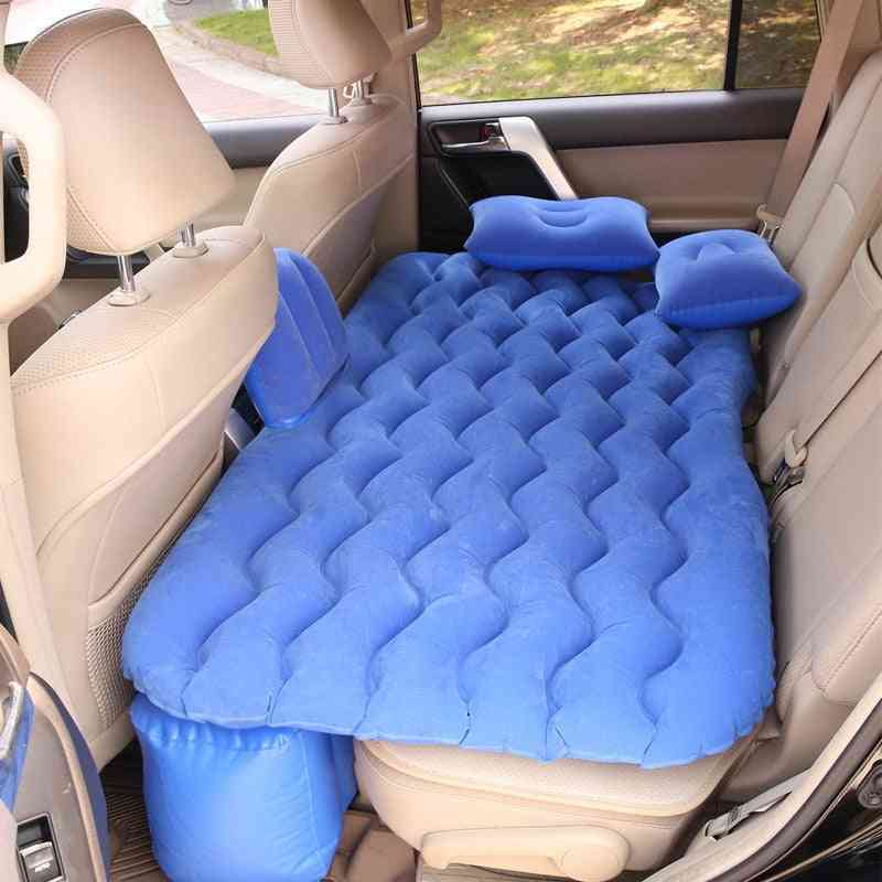 Car Air Inflatable Back Seat Air-bed Sofa Pillow Mat Cushion
