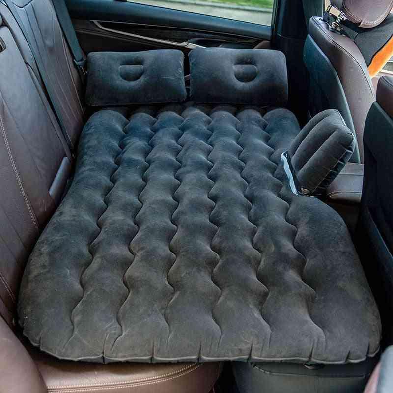 Car Air Mattress Bed, Inflatable Sofa Flocking, Cloth Bell