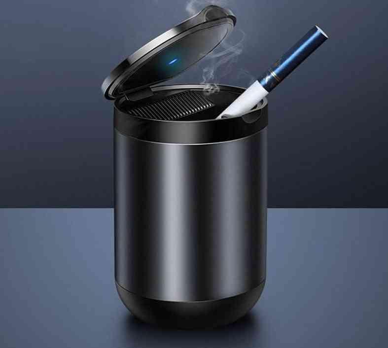 Auto Ashtray, Flame Retardant, Cigarette Smokeless, Holder Box