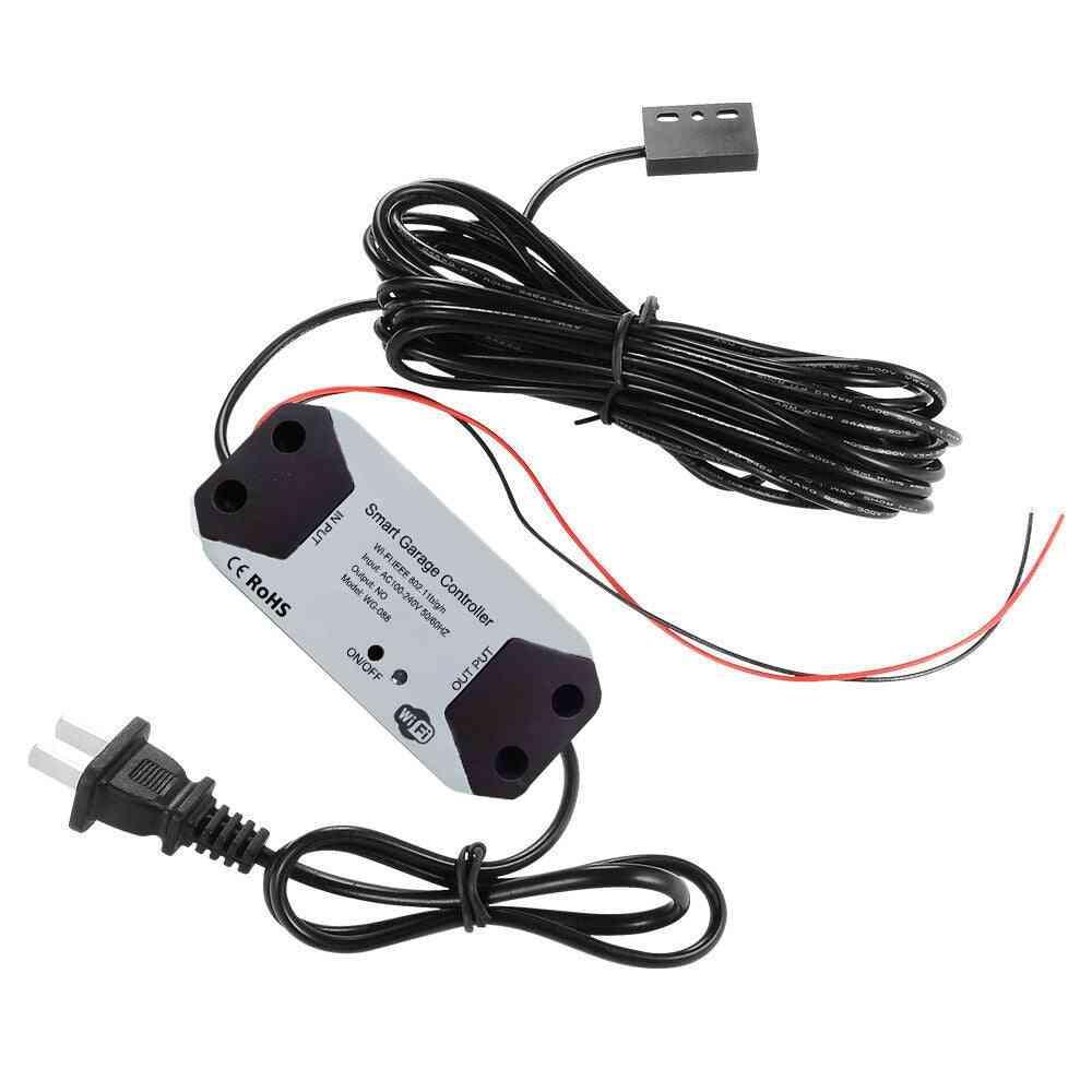 Wifi Remote, Smart Garage Door Opener - Supprot Alexa Home Voice Control