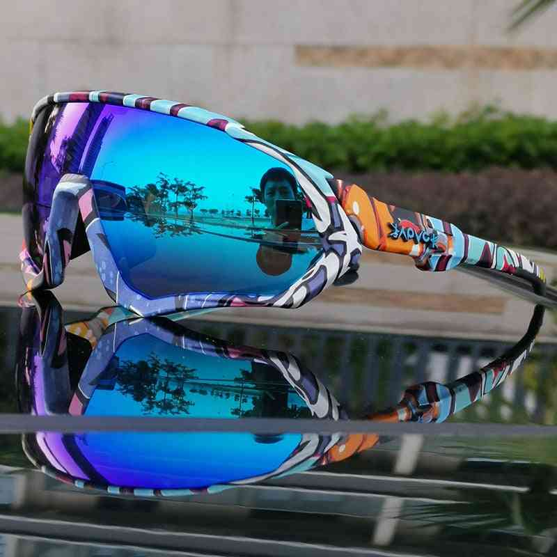 Hot Tr90 Mtb Polarized Sports Cycling Glasses, Goggles