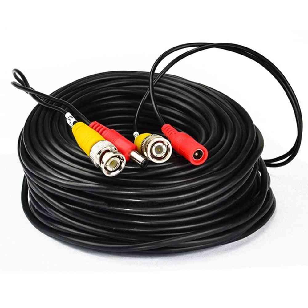Camera Cables Bnc Output Dc Plug Cable For Analog Cctv Dvr System