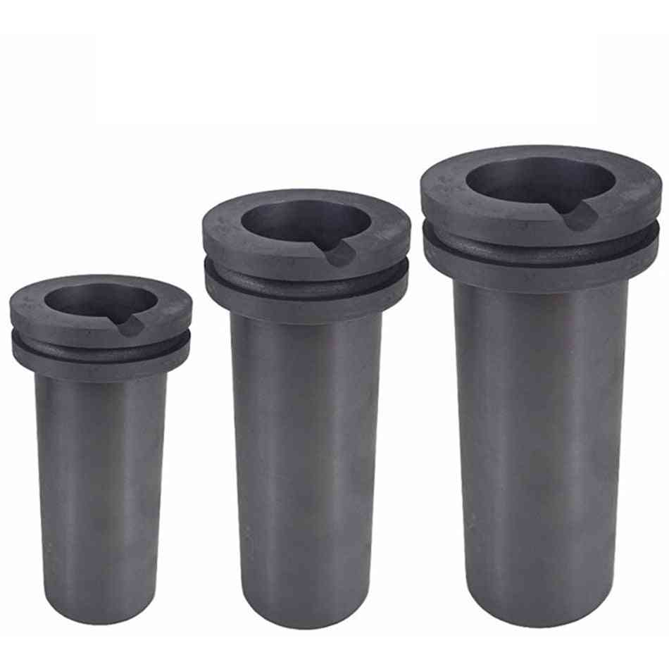 High-purity Graphite, Furnace Temperature Resistant Precious Metal With Double Ring Melting Crucib