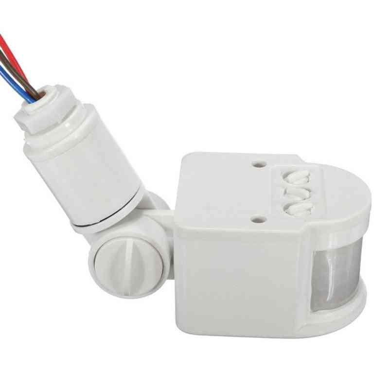Ac 220v Automatic Infrared Pir Motion Sensor Switch With Led Light
