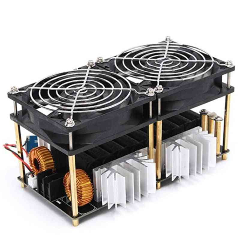 Zvs Induction Heating Board, Heater Module Flyback Driver, Coil Dual Fan With Copper Tube (black)