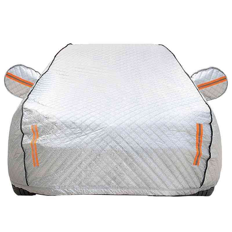 Four Seasons Cotton Wool Thickening Car Cover