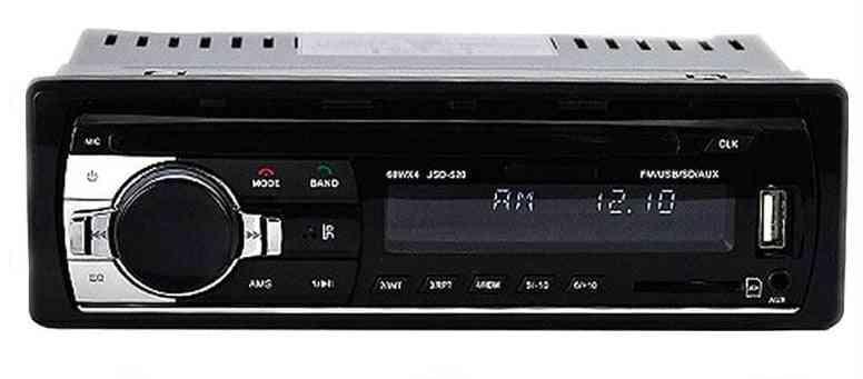 1 Din Car Stereo Radio Remote Contract Multiple Eq Mp3, Wma & Wav Player