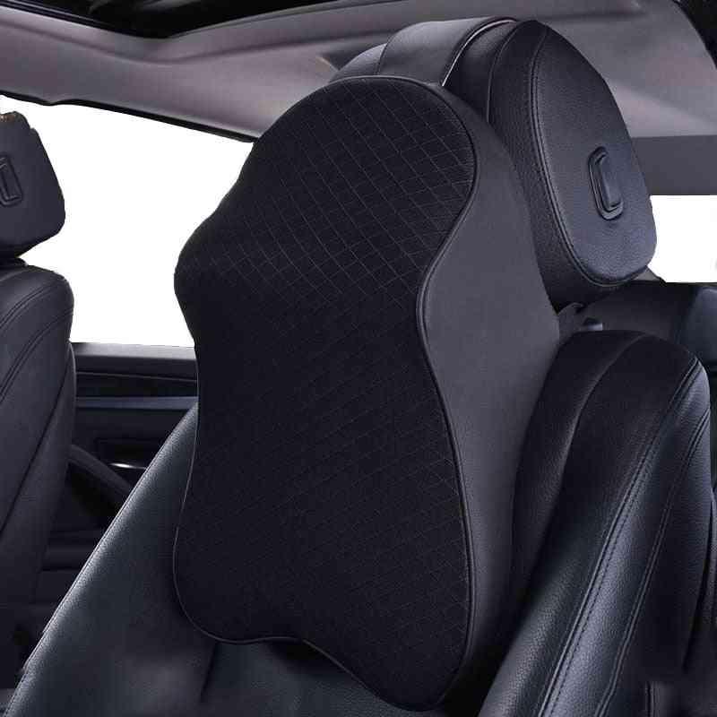 3d Memory Foam Auto Adjustable Head Restraint Car Neck Pillow