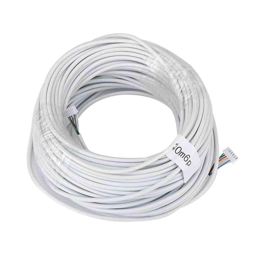 6 Wire Cable For Video Intercom, Door Phone Doorbell