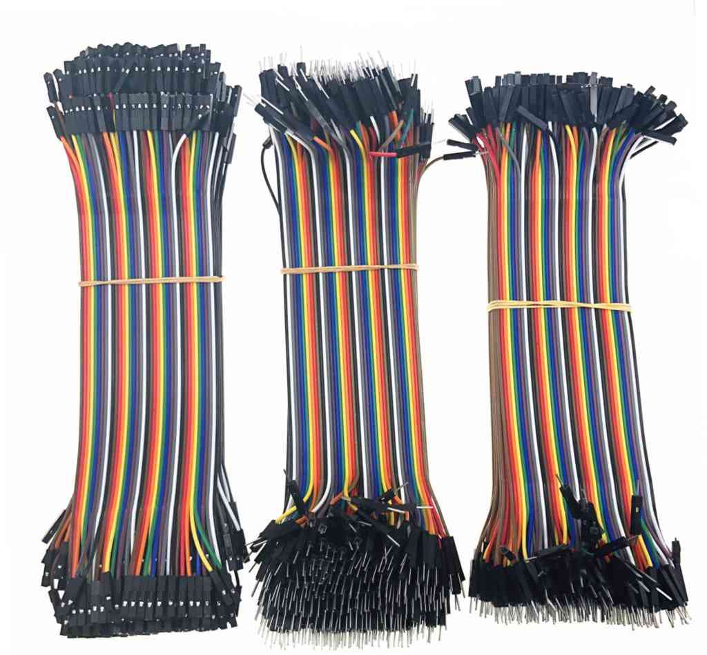 40-pin Line Male To Male & Male To Female And Female To Female Jumper Wire Kit