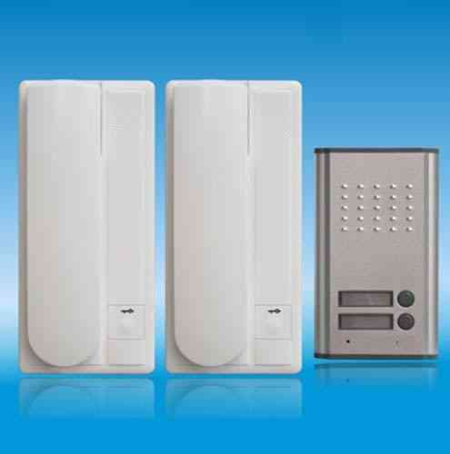 2-wire Audio Door Phone, Unlock Function With 2-buttons For Home Security