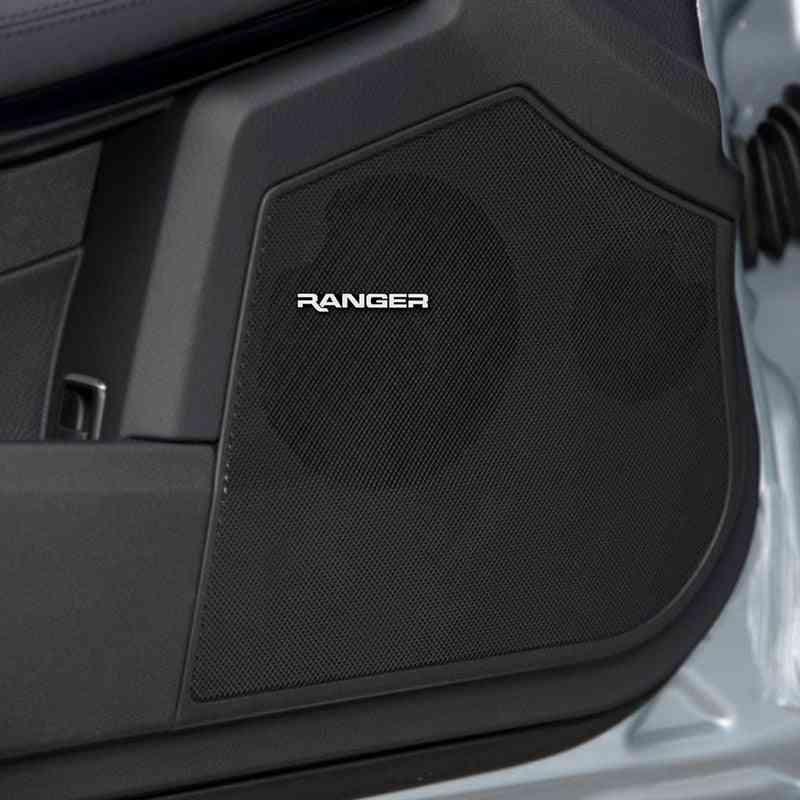3d- Aluminum- Stereo Speaker, Badge Emblem Sticker Car Accessories