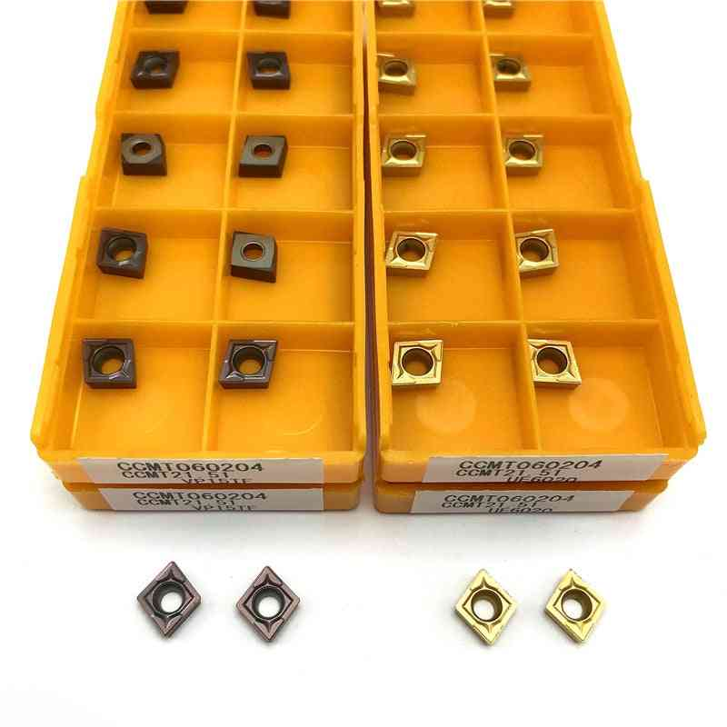 Metal Lathe Internal Turning Tool Carbide Insert Ccmt060204 Vp15tf Ue6020