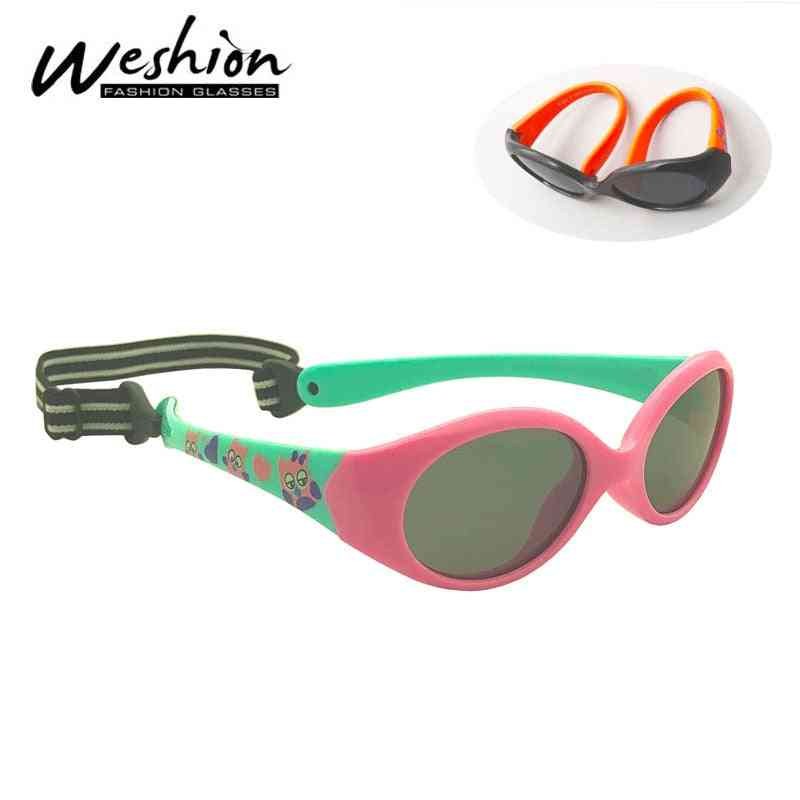 Little Kids Glasses Baby Sunglasses Polarized For 1 2 3 Years Old Eyeglasses Tr90 Safety Shades Boy Girl With Rope