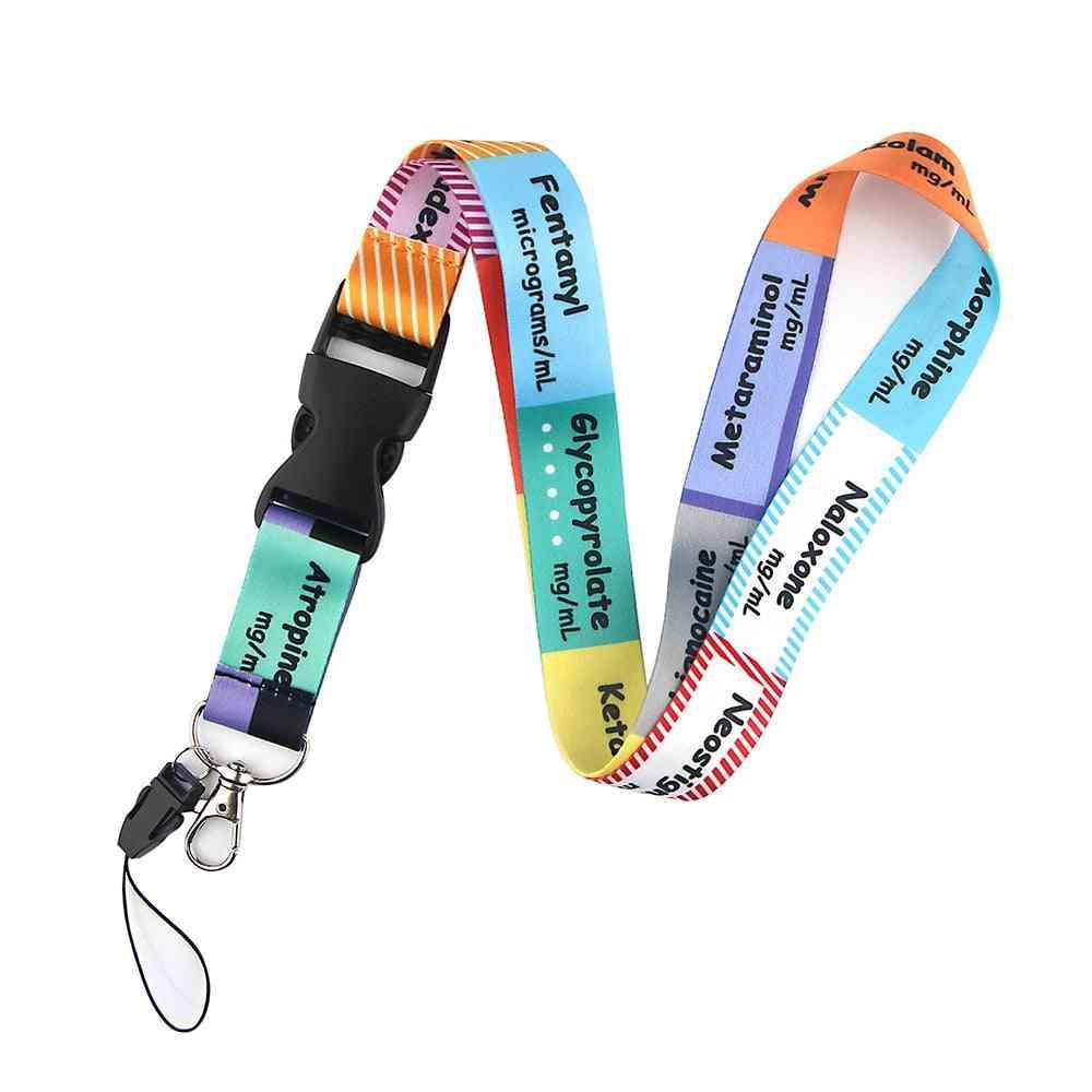 Medical Series- Icu Key Chain, Lanyard
