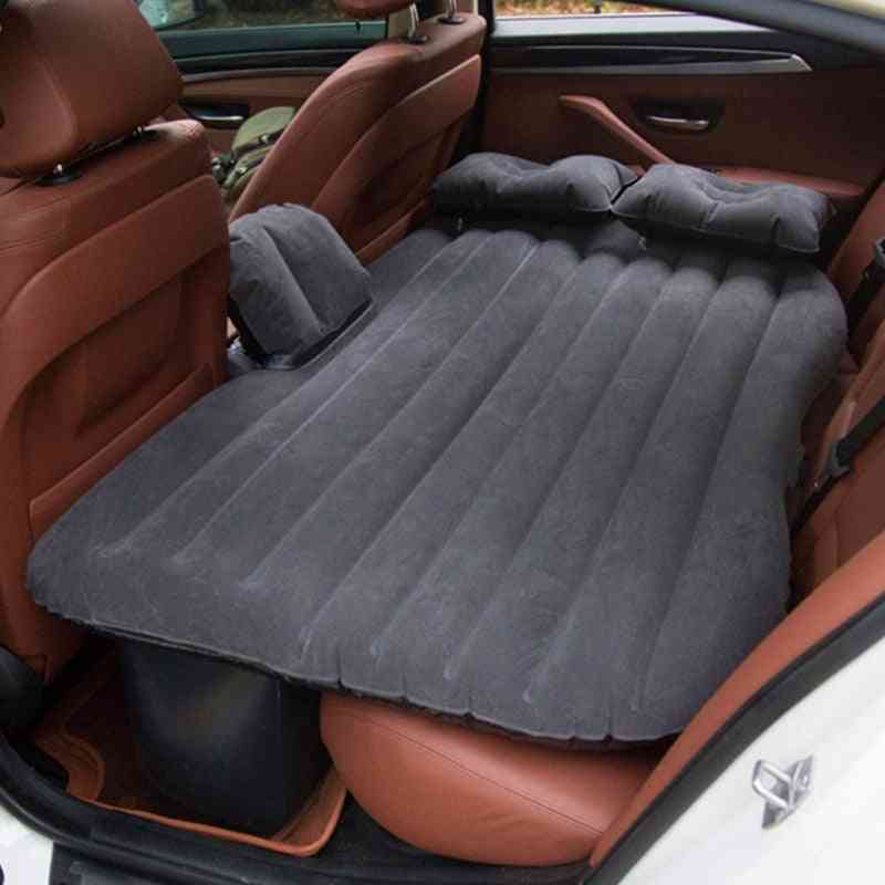 Automotive Air Inflatable Mattress, Car Travel Bed, Camping Sofa, Rear Seat