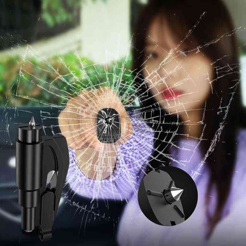Car Safety, Auto Emergency, Glass Window, Breaker Hammer