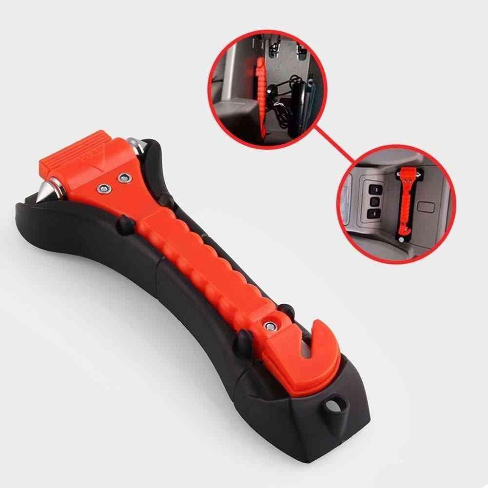 Car Safety Escape, Emergency Hammer Cutter, Window Glass Tool