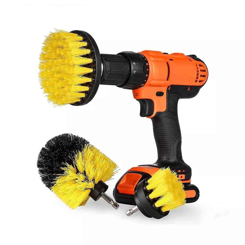 Power Scrubber Brush Drill Brush For Bathroom Surfaces, Tile Grout Scrub Cleaning Kit