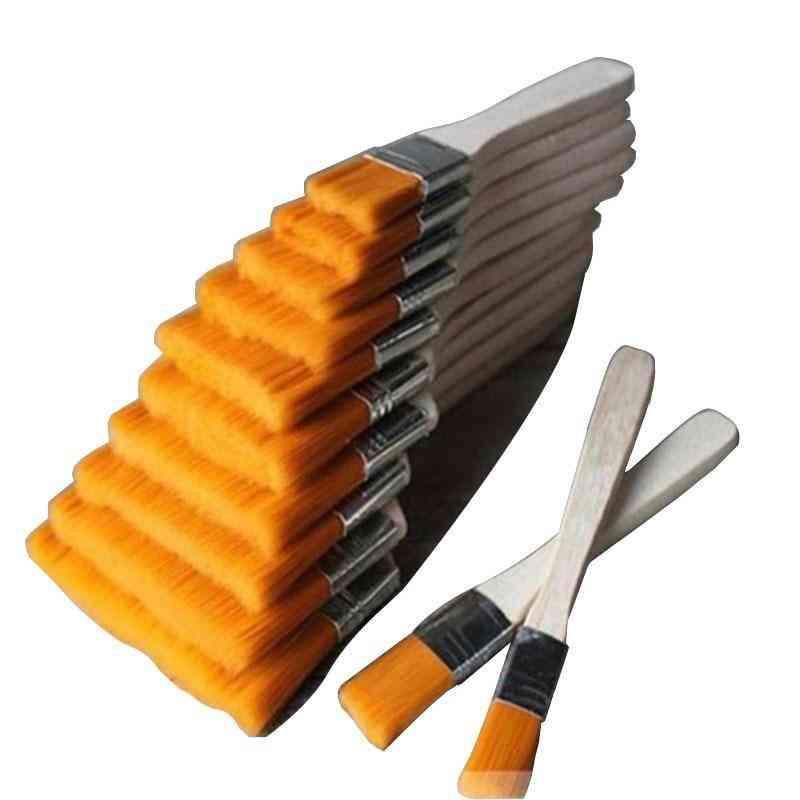 Multi-purpose Wooden Handle, Line Paint, Nylon Brush, Dust Cleaning Tool