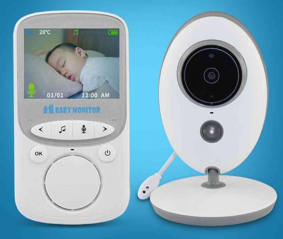 Wireless Video Monitor Camera, Intercom Night-vision Monitoring For Baby Sitter