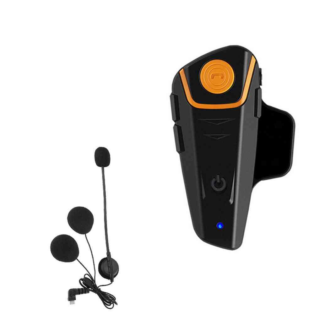 Waterproof Moto Helmet With Bluetooth / Wireless