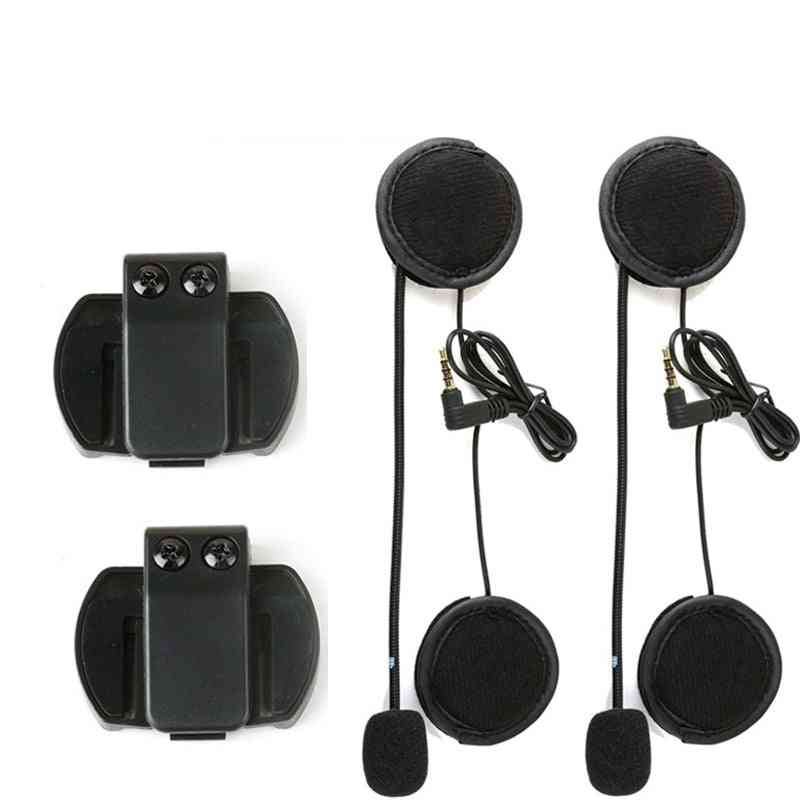 V6 Pro Accessories For Microphone Motorcycle Helmet Bluetooth Intercom
