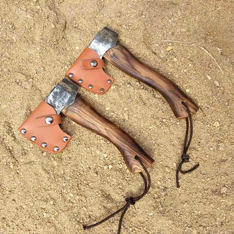 Hand Forged Fire Warden Pickaxe Hatchet Scandinavian Forest Axe
