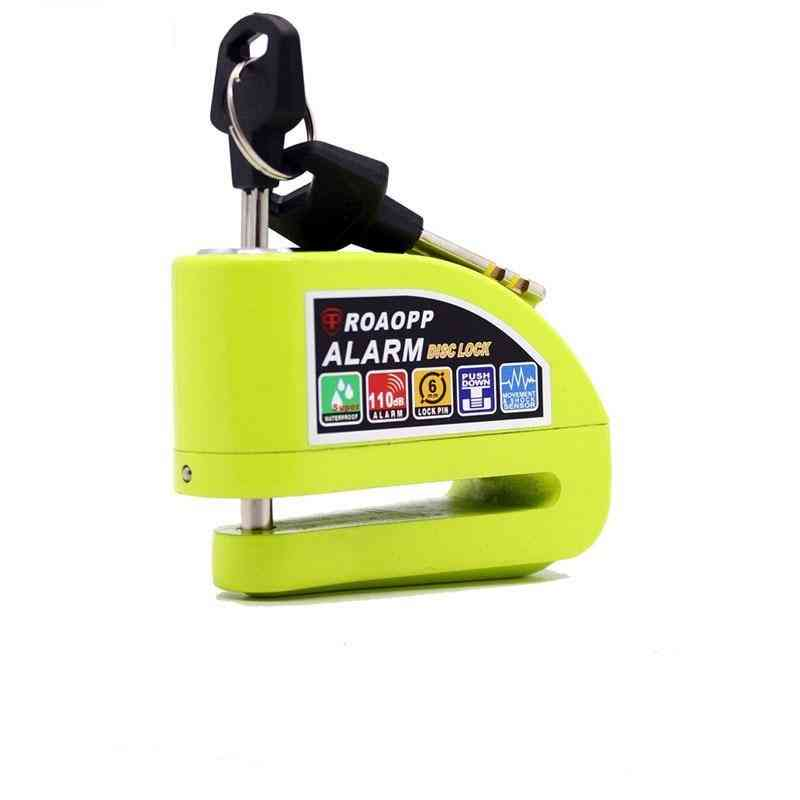 Motorbike Anti-theft Alarm Wheel Disc Brake Security Safety Siren Lock