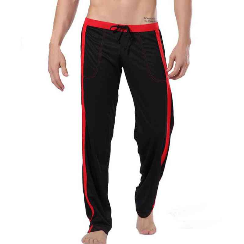 Thermal High-end Men Cotton Sleep Bottoms Nighty Trousers